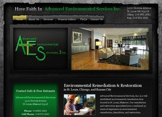 Small Business SEO - Advanced Environmental Services SEO Project